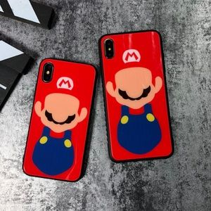 Other - New Super Mario Tempered Glass iPhone Case